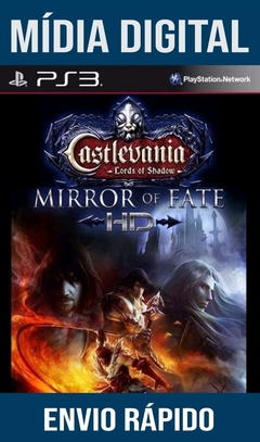 Castlevania Lords Of Shadow Mirror Of Fate Ps3 Psn Mídia Digital