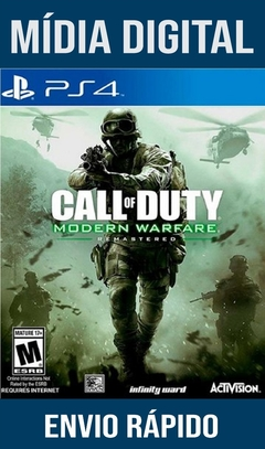 Call Of Duty Modern Warfare Remastered Ps4 Psn Original 1 Mídia Digital