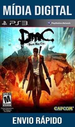 Devil May Cry Dmc Ps3 Psn Mídia Digital (Leg Br)