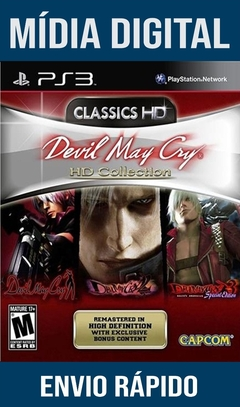 Devil May Cry Hd Collection Ps3 Psn Mídia Digital (Leg Br)