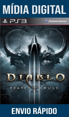 DIABLO 3 REAPER OF SOULS PS3 PSN MÍDIA DIGITAL