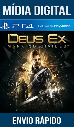 Deus Ex Mankind Divided Ps4 Psn Original 1 Mídia Digital