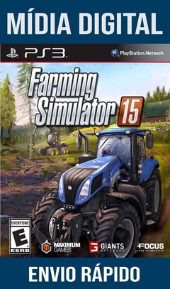 Farming Simulator 15 Ps3 Psn Mídia Digital