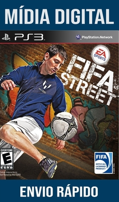 Fifa Street Ps3 Psn Mídia Digital