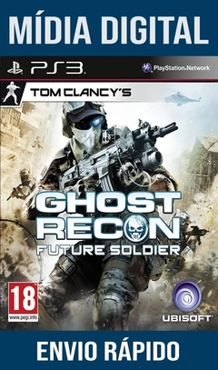 TOM CLANCY'S GHOST RECON FUTURE SOLDIER PS3 PSN MÍDIA DIGITAL