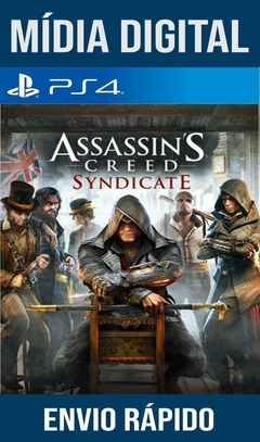 Assassin's Creed Syndicate Ps4 Psn Original 1 Mídia Digital (Dub Br)