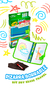 Kit Pizarra con 4 Mini Marcadores Travel Pack Crayola en internet