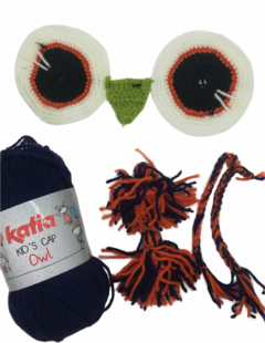 "KIT Gorro Búho de Katia - ""Kid's Animals"" - comprar online"