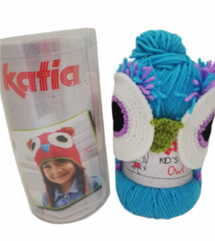 "KIT Gorro Búho de Katia - ""Kid's Animals"" - Luno"