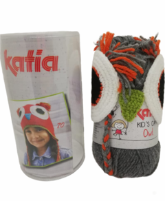 "KIT Gorro Búho de Katia - ""Kid's Animals"" en internet"