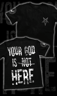 "Remera ""Not Here"""