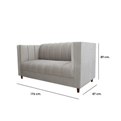Love seat Elegance vicenza ivory - Ganza Muebles