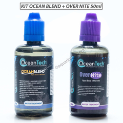 Kit Ocean Blend + Over Nite 50ml Ocean tech