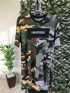 Camiseta Right Here Co Camuflada