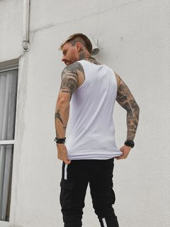 Regata Longline WHITE BASIC - Loja Macho Moda