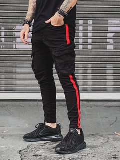 Calça CARGO RED SUPER SKINNY