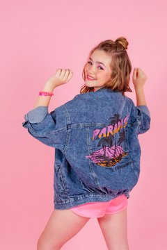 CAMPERA PARADISE DENIM
