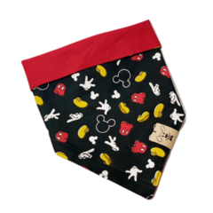 Bandana Mickey Black