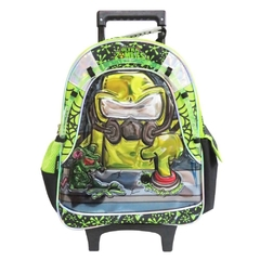Mochila Zombie Infection emergency con sonido infantil con carro
