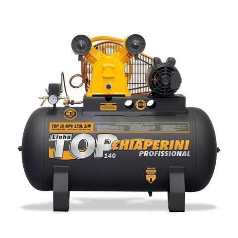 COMPR.AR TOP10MPV RCH 150L C/MT 2HP 220/380V IP21