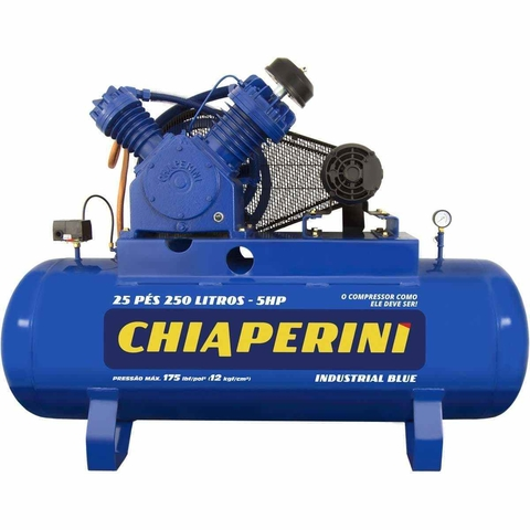COMPR.AR 25 PES BLUE RCH250L C/MM 5HP 220/440V IP55