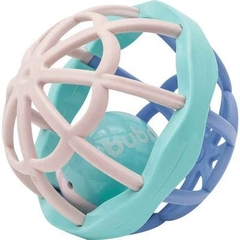 CHOCALHO BABY BALL CUTE COLORS BUBA- Rosa
