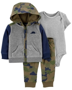 Conjunto fleece