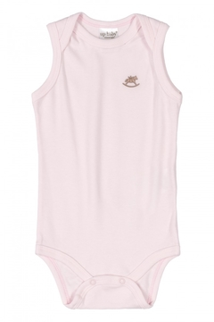 Body Suedine Regata Up Baby Rosa