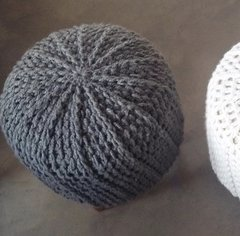 PUFF CON FUNDA CROCHET en internet