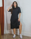 MAXI T-SHIRT DRESS PRETO - comprar online