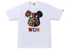 Camiseta A bathing ape Bape x Medicom toy - Camo Bear
