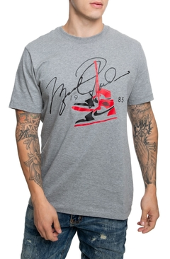 camiseta Air Jordan 85 - Cinza