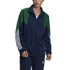 JAQUETA ADIDAS ORIGINALS BIG TREFOIL ABSTRACT TRACK TOP VERDE/AZUL