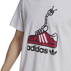 CAMISETA ADIDAS WORM SHOE