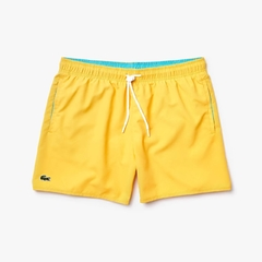 SHORTS LACOSTE BASIC QUICK - DRY - AMARELO