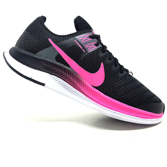 Kit 2 Tênis 1 Nike Air Force Gucci + 1 Nike Dynamic Preto e Rosa