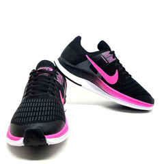 Kit 2 Tênis 1 Nike Air Force Gucci + 1 Nike Dynamic Preto e Rosa na internet