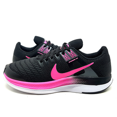 Kit 2 Tênis 1 Nike Air Force Gucci + 1 Nike Dynamic Preto e Rosa - loja online