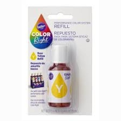 Repuesto de Color Right System(TM) Amarillo basico Wilton® 19 ml