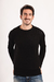 Sweater Vicente cuello O Negro en internet