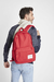 Mochila Pop Quiz 22L Red/Saddle Brown