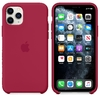 FUNDA SILICONE CASE IPHONE - ROSE RED