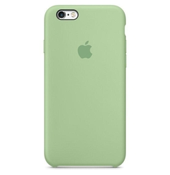 FUNDA SILICONE CASE IPHONE - MINT - comprar online