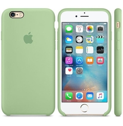 FUNDA SILICONE CASE IPHONE - MINT