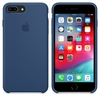 FUNDA SILICONE CASE IPHONE - BLUE COBALT