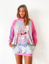 Maxibuzo Frisa Angel/Stitch Rosa
