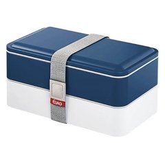 Marmita Lunch Box Fit Azul Skyline - Euro Home