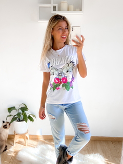 Remera estampada Blooming Buho en internet