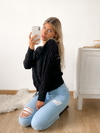 Sweater full trenzas Leiden