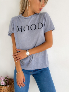 Remera estampada jersey lino Mood